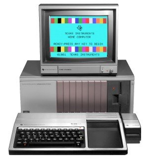 Texax Instruments TI-99/4A Computer