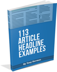 113 Article Headline Examples
