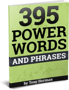 395 Power Words and Phrases book
