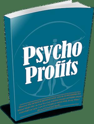 Psycho Profits book