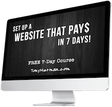 Set Up a Website That Pays in 7 Days!