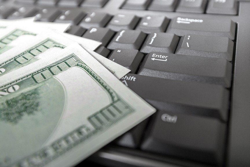 money-on-computer-keyboard