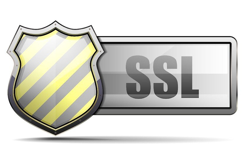 "A shield and ""SSL"""