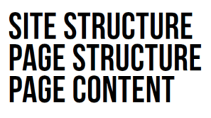structure-content