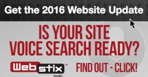 Get the 2016 Website Update - is Your Site Voice Search Ready?