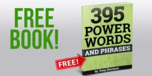 Free Book! 395 Power Words and Phrases - FREE