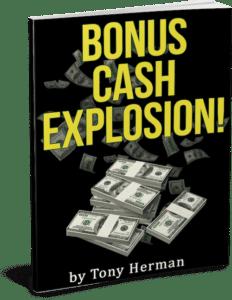 """""""Bonus Cash Explosion"""" book"""