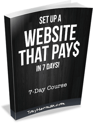 Set Up a Website That Pays in 7 Days