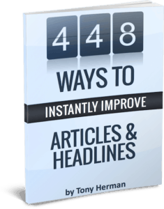 448 Ways to Instantly Improve Article & Headlines book cover
