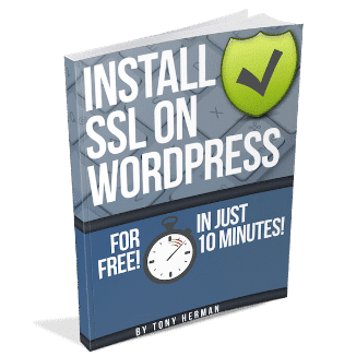 """Install SSL on WordPress for FREE - In Just 10 Minutes!"" Book"