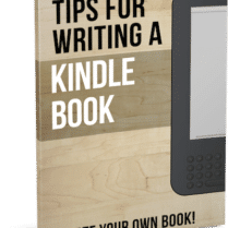 Tips for Writing a Kindle Book