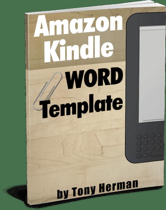 Free Amazon Kindle Microsoft Word Template Self Publish