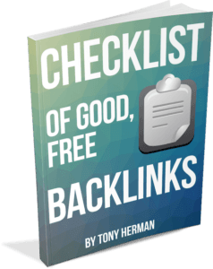 Checklist of Good Free Backlinks book