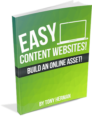 """""""Easy Content Websites"""" course book"""