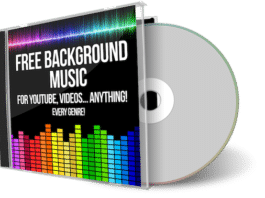 Free Background Music CD and Case
