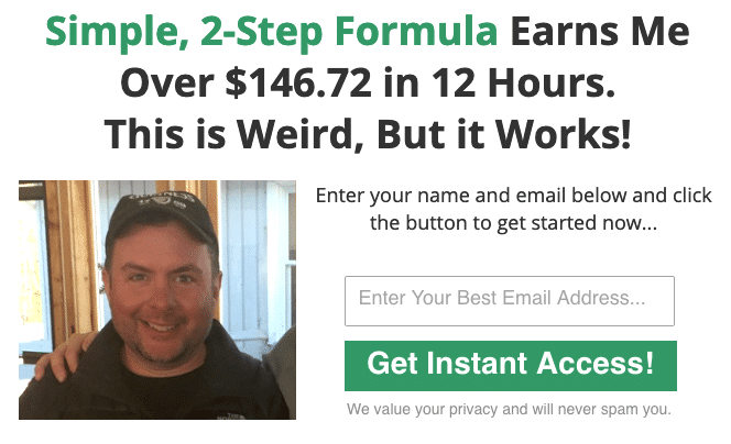 This system shows me how to make money online