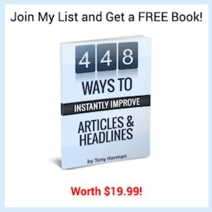 Join My List and Get a FREE Book! Worth $19.99!