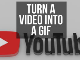 Turn a Video Into a GIF Image