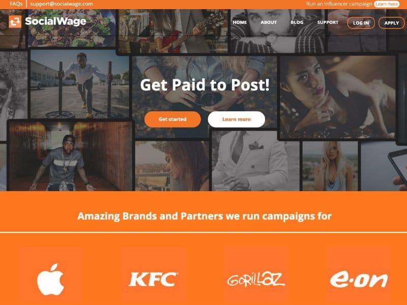 Social Wage website
