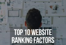 Top 10 Website Ranking Factors