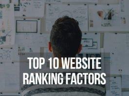Top 10 Website Ranking Factors