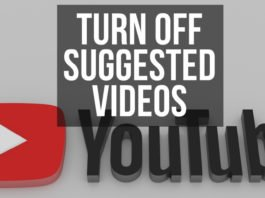 How to Turn Off Suggested Videos on YouTube