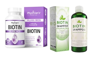 biotin supplements and shampoo for hair loss