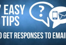 7 Easy Tips to Get Responses to Emails
