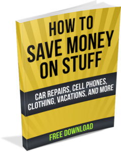 How to Save Money on Stuff