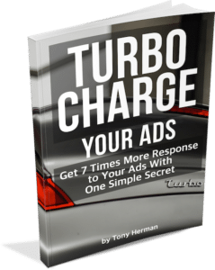 Turbocharge Your Ads by Tony Herman