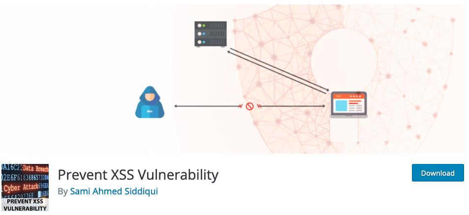Prevent XSS Vulnerability plugin