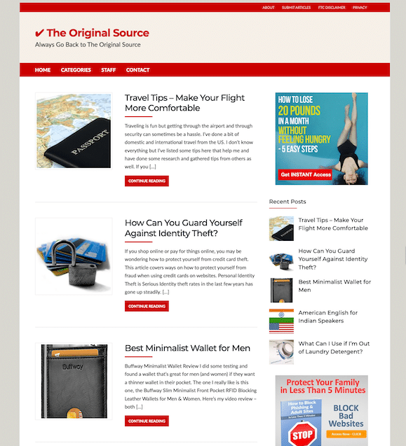 TheOriginalSource.com