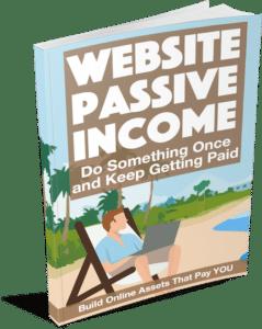 Website Passive Income