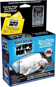 Wipe New Headlight Restore