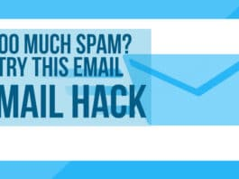 Too Much Spam? Try This Email Hack