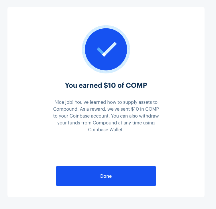 Coinbase bonus
