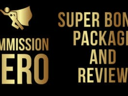 Commission Hero SUPER Bonus Package and Review