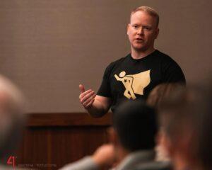 Robby Blanchard training